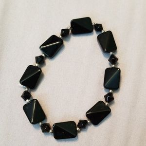 Jewelry - Black stretch bracelet